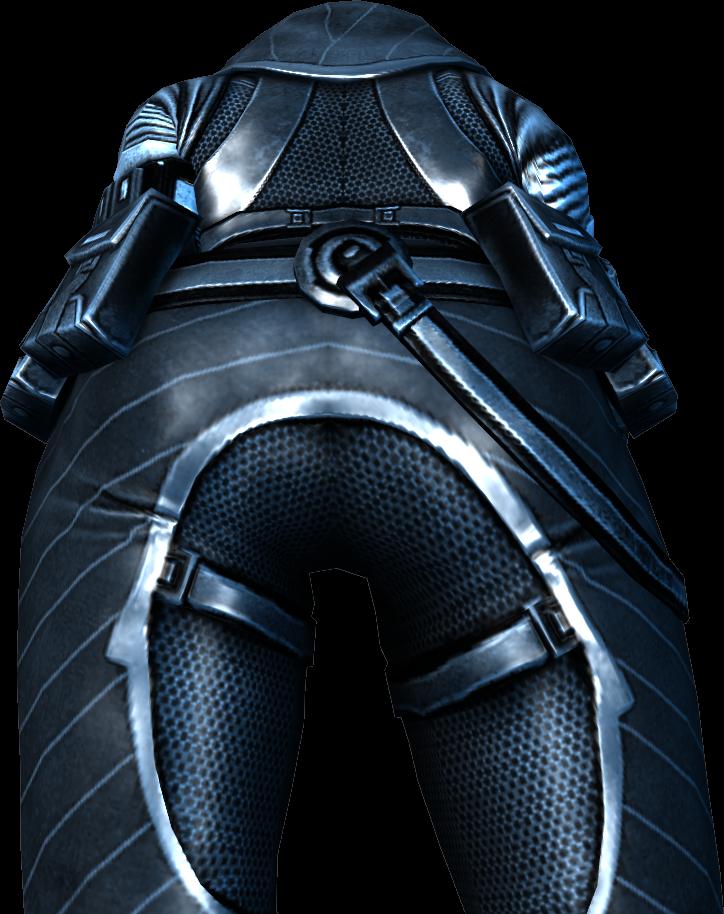 Xen's butt by aQuarianFetishist