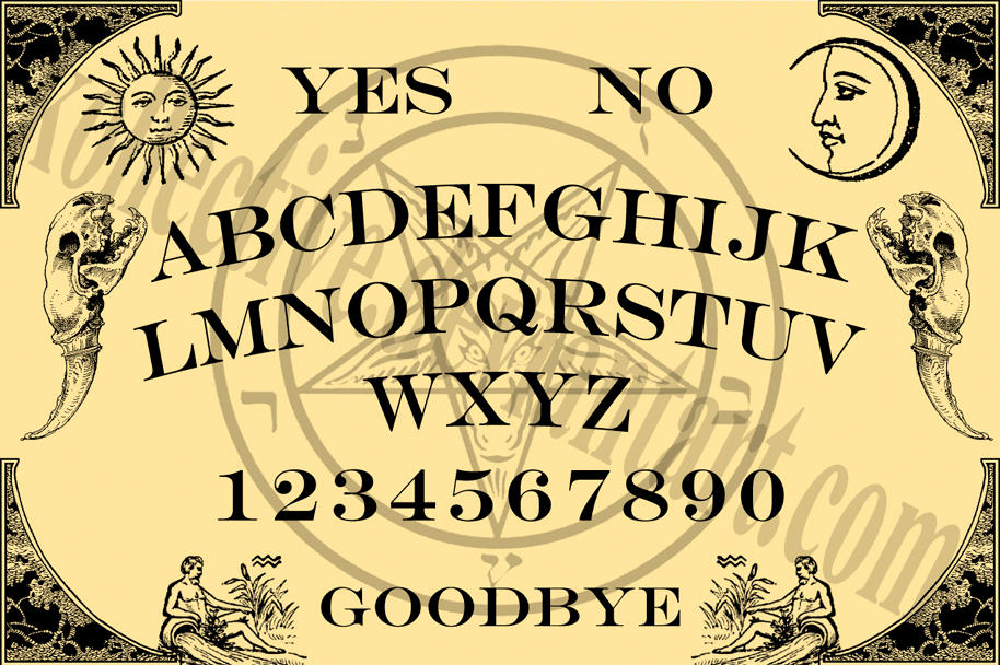 DeviantArt: More Like Ouija board guitar by Jimmer1220