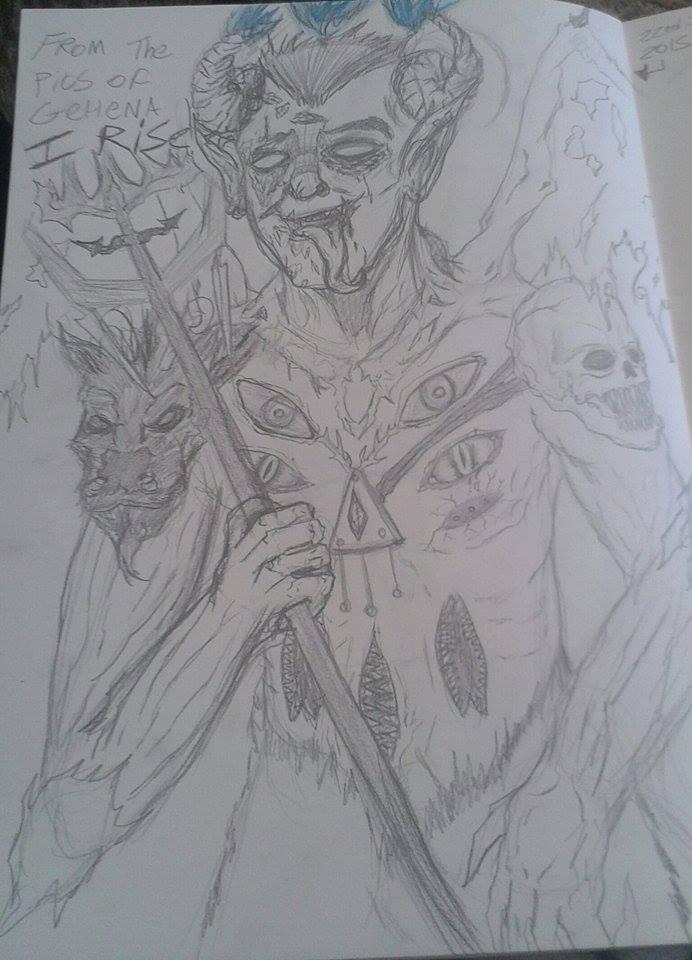 Demon Eddie Gluskin by ShadowChaser12