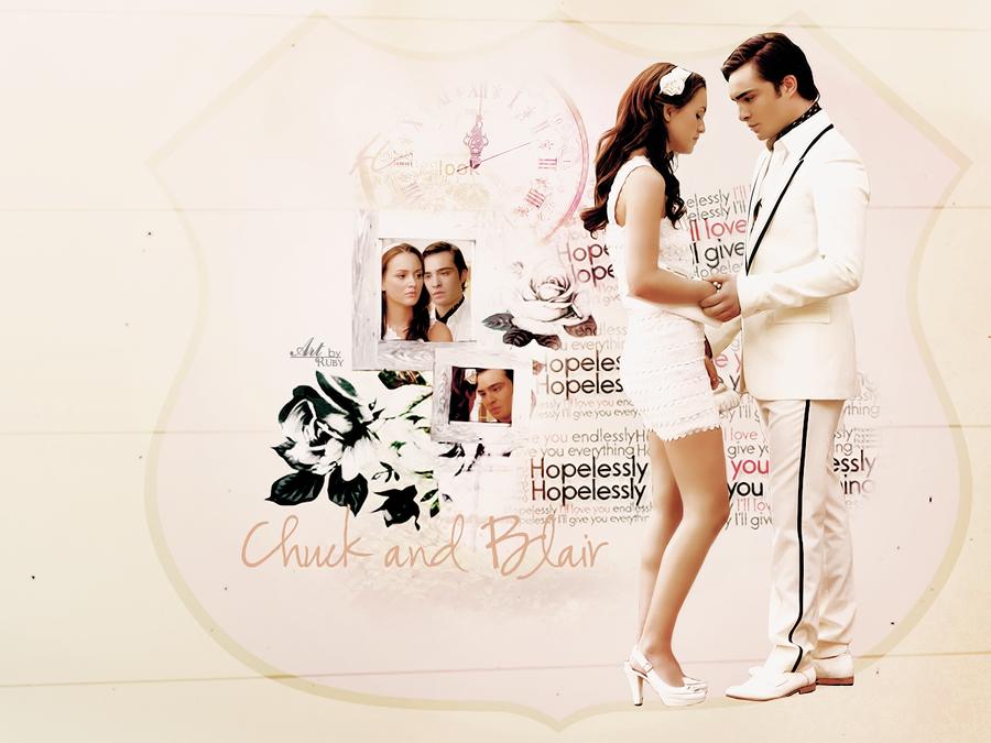 Chuck and Blair by ByR...