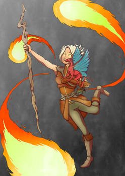 Whisper, Sorceress of Fire