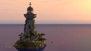 Minecraft Medieval lighthouse
