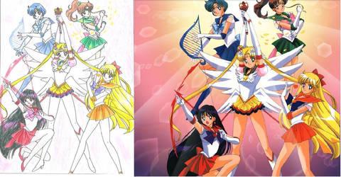 Sailor Moon S by Yishana