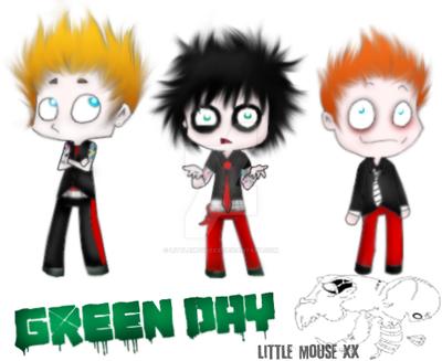 Green Day. by LittleMouseXX