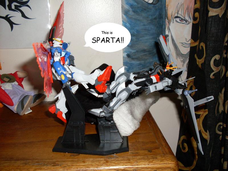 This is Gundam Sparta by UchihaSae
