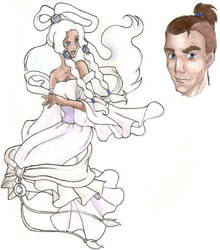 Disney Princess Yue and Sokka