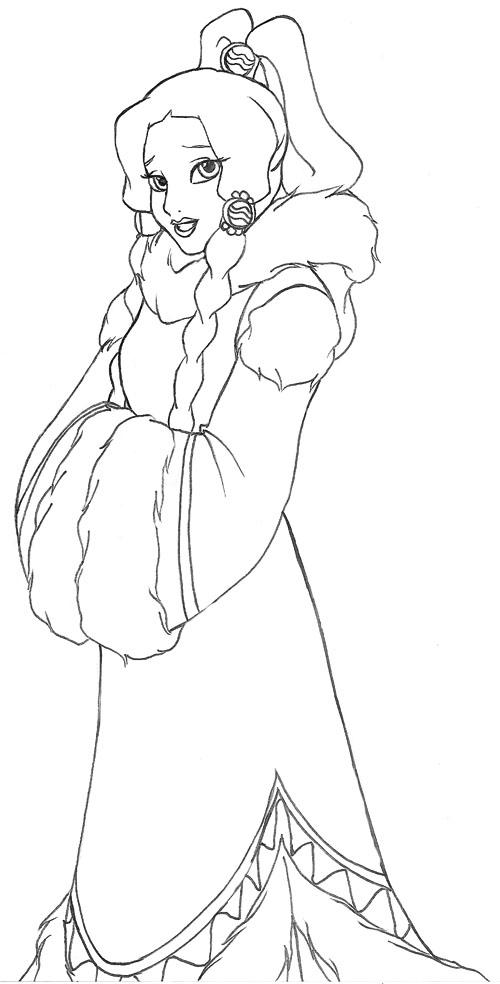 Disney Princess Yue 2 By UchihaSae On DeviantArt