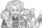 I love your coat, Fluffy Uncle Thorin!