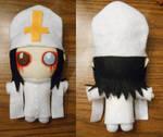 Pope Marilyn Manson Chibi Plush Doll