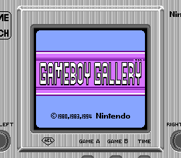 Game Boy Gallery (Game Boy - Colorized) by SupaStarFox