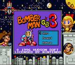 Bomberman GB 3 (Game Boy - Colorized)