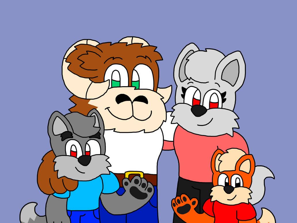 Cody The Fox's Family