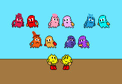 Pac-Man Meets Hanna Barbera Pac-Man