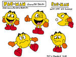 Pac-Man (Pac-Man Hanna Barbera - Character Design)
