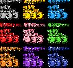 Pac-Man GB - Redux (Anniversary Pac-Man Sprites)