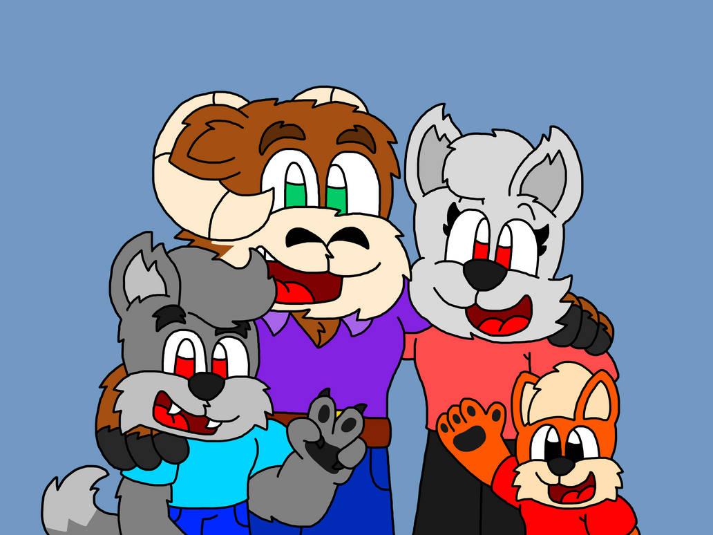 Cody The Fox's Family (Remake)