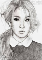 CL from 2NE1 by Wiwis1