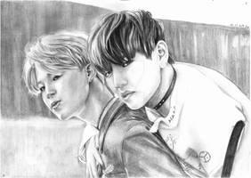 VMin (TaeHyung and JiMin)