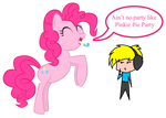 Ain't no party like Pinkie Pie party
