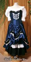 TARDIS corset dress