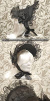 Victorian half bonnet #1