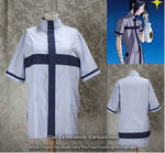 Ishida's blue shirt (Bleach cosplay) by Stahlrose