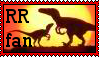 Raptor Red Stamp by grayorca