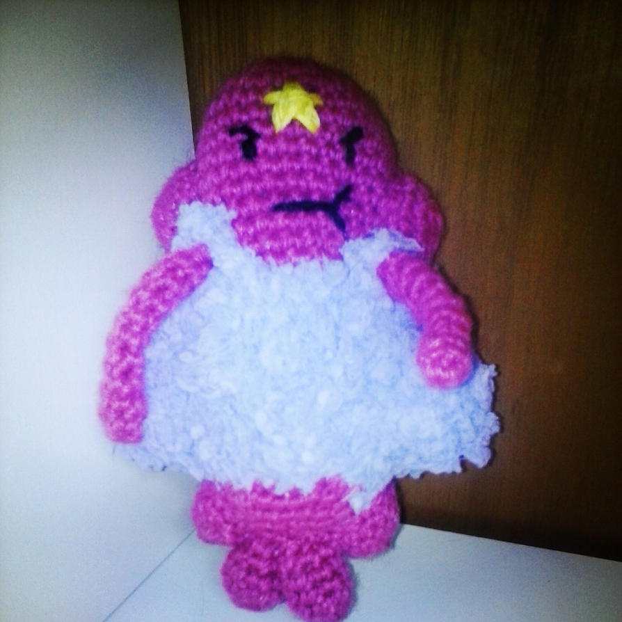 Lumpy Space Princess Amigurumi. by cheziah