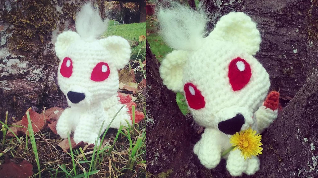 Ninetails Amigurumi -- with free pattern! by cheziah