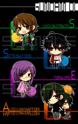 Gundam 00 by kaokmchan