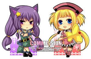 Commission - xxyumi-donoxx by kaokmchan