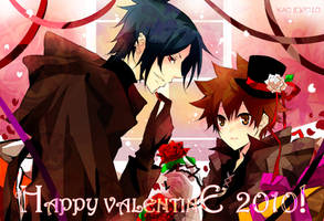 Reborn - HAPPY VALENTINE 2010 by kaokmchan