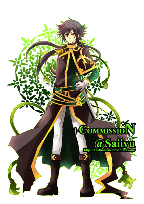 Commission - Saiiyu 2 by kaokmchan