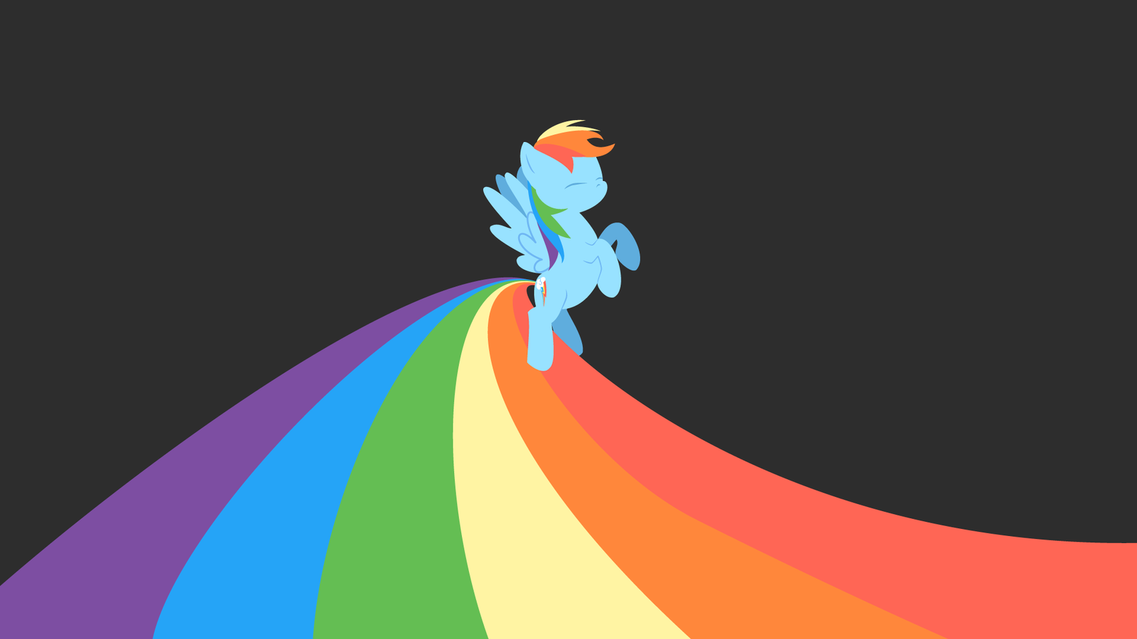 Pims1978 70 3 Rainbow Dash Wallpaper Excals Birthday Surprise By ShiroPoint
