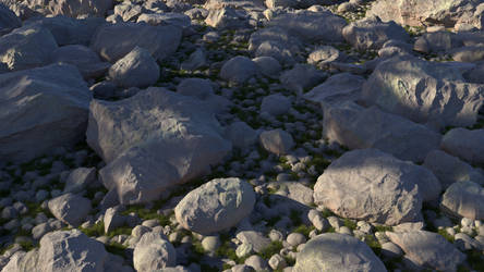 Fake Stones Shader V1 Final by Tangled-Universe