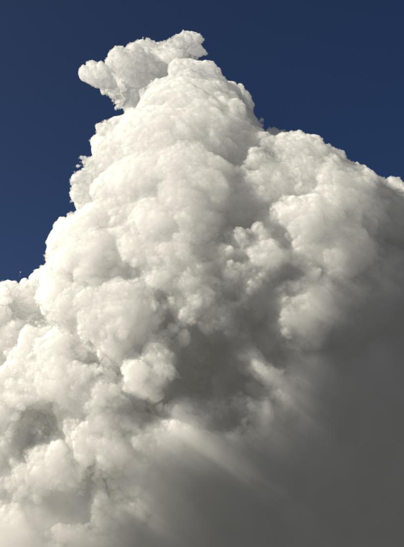 Volumetric Cumulus Clouds