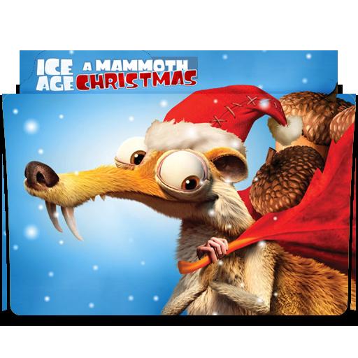 ice age mammoth christmas movie folder icon by sharatj - Ice Age Mammoth Christmas