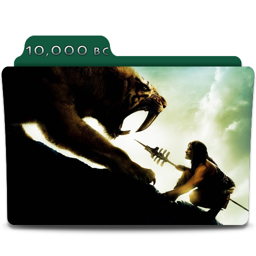 10000 BC Movie Folder Icon By SharatJ On DeviantArt
