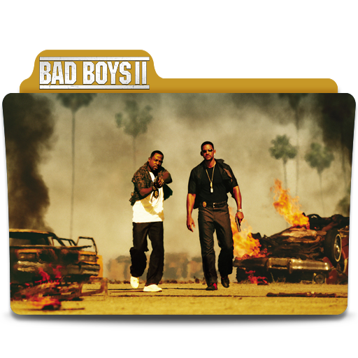 Bad Boys II Movie Folder Icon By SharatJ On DeviantArt