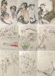 'Vogelfrei' sketches