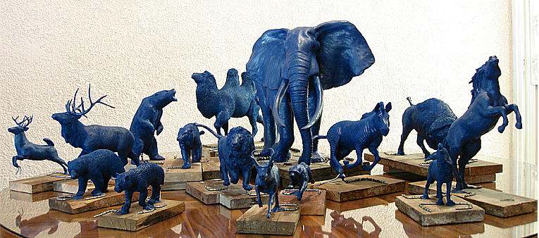 all 1:10 scale animals by serchio25