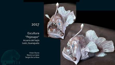 Sergio De La Rosa angler fish