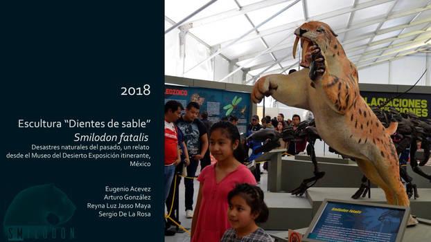 Sergio De La Rosa  Smilodon fatalis  sabertooth