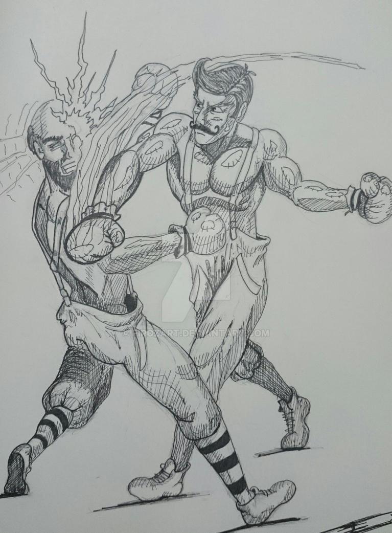 Old School Boxing by Firozart on DeviantArt