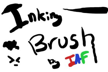 Inking Brush by Iatefailure