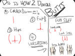 [How To Draw] Butts!