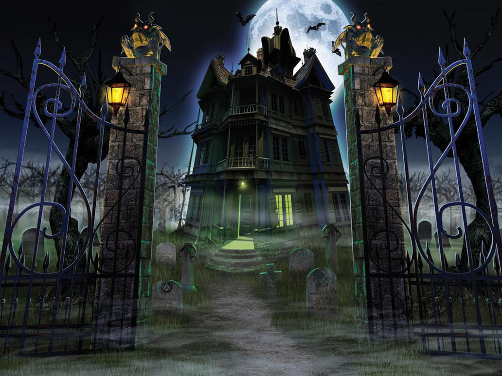 Haunted House By Myjavier007 On Deviantart