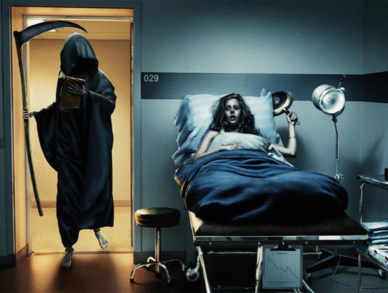 Grim Reaper Hospital Visit