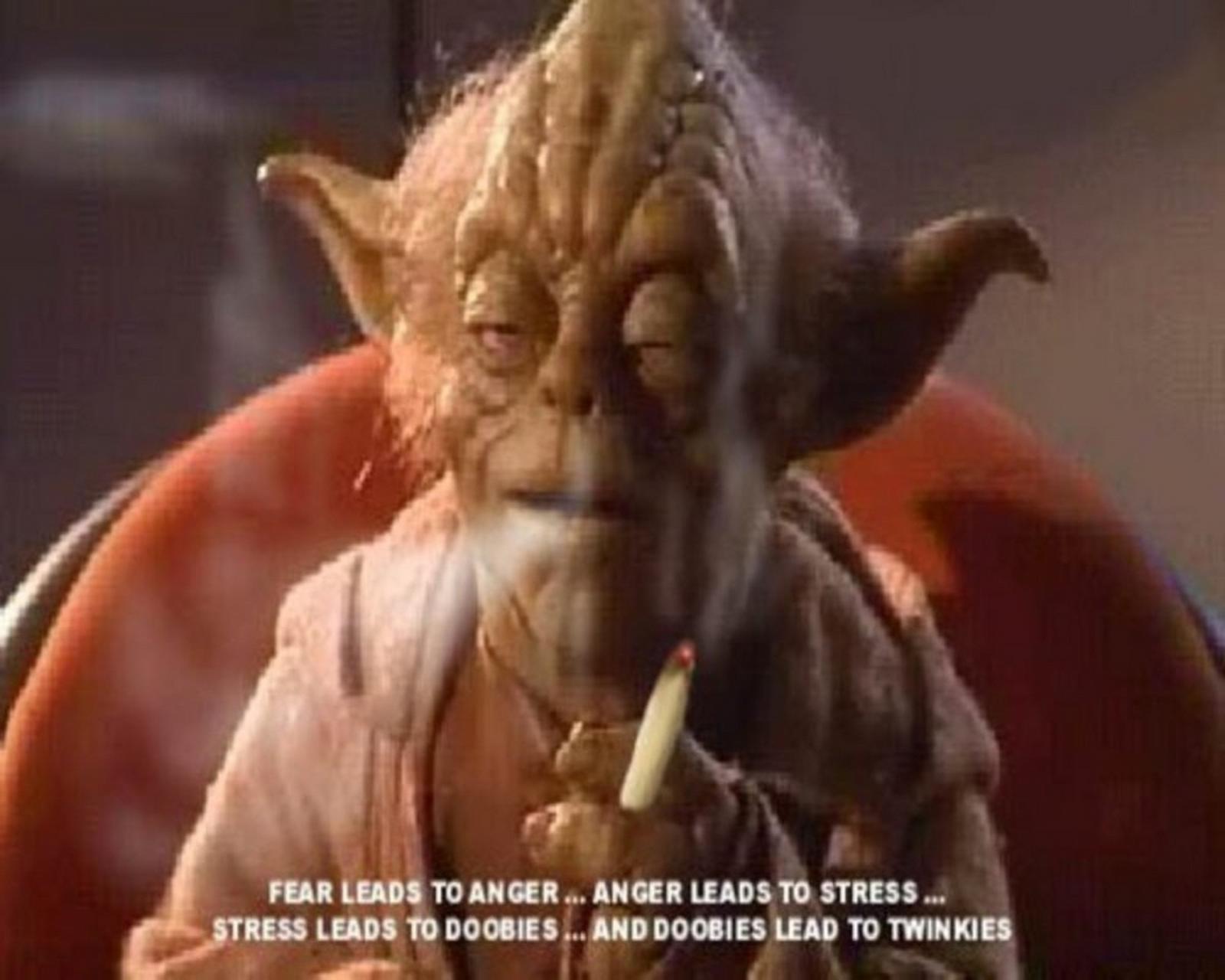 Yoda weed memes