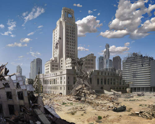 Post Apocalypse Downtown Los Angeles